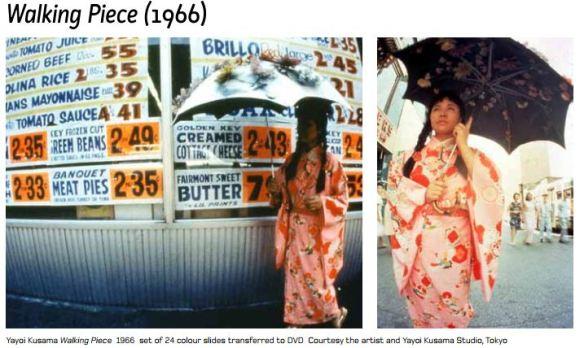 Yayoi Kusama, Walking Piece