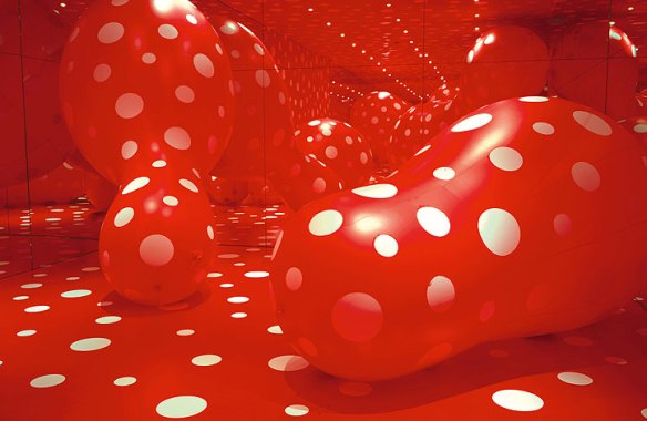 Walking In My Mind Exhibition, Yayoi Kusama, Hayward Gallery