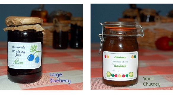 Personalised jar labels