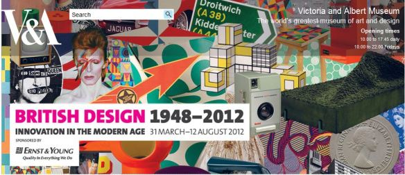 Celebrating British Design Victoria and Albert Museum