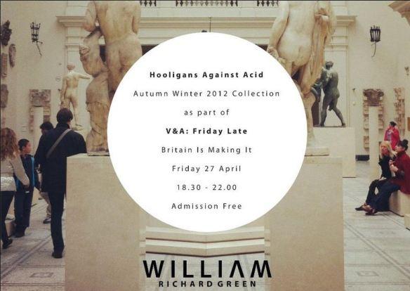 William Richard Green – Hooligans Against Acid