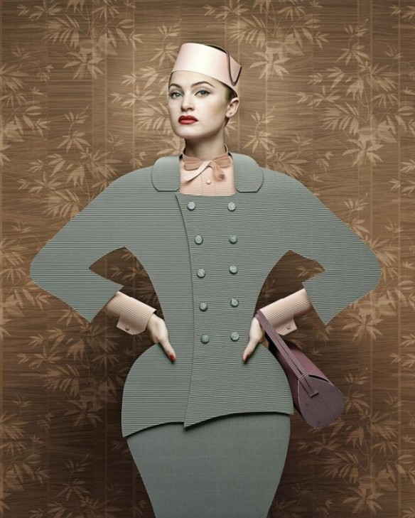 CardBoard Ladies Christian Tagliavini - 50s fashion