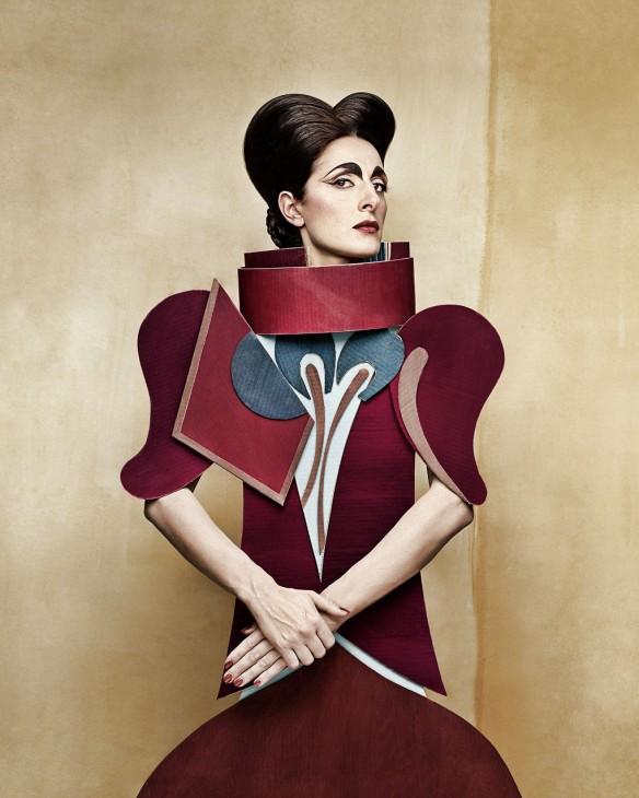 CardBoard Ladies Christian Tagliavini - Cubism