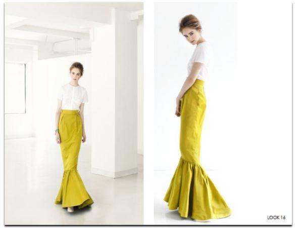 Katie_Ermilio_spring2012_mustard _mermaid_skirt