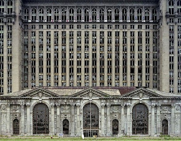 Ruins of Detroit by Ives Marchand 06