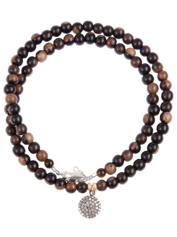 CATHERINE MICHIELS beaded bracelet