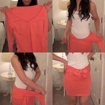 skirt_from_jumper_DIY